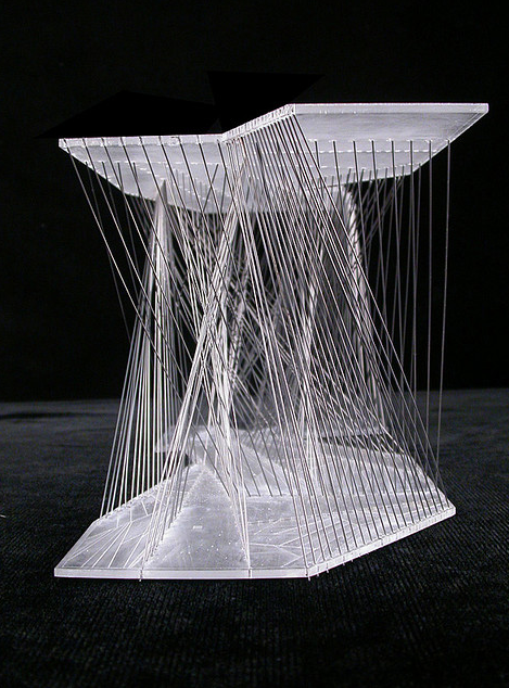 Jessica rosenkrantz hided room architecture model for Architecture parametrique