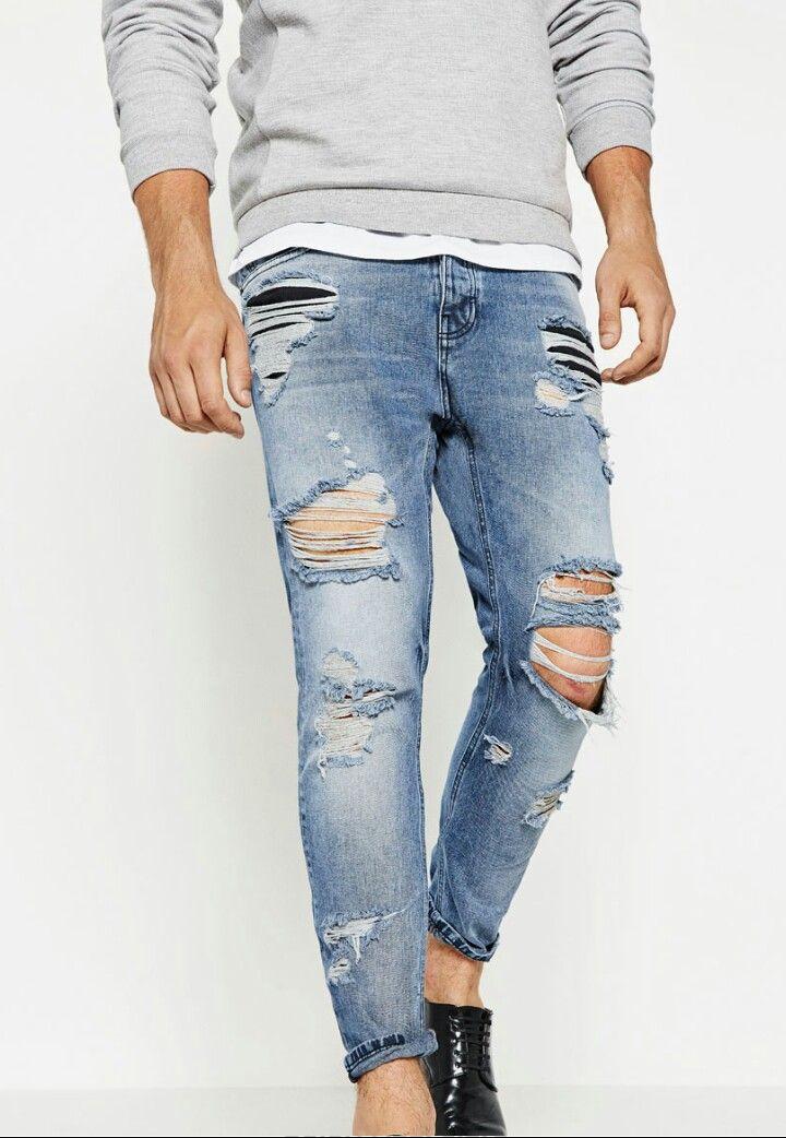 Ibrahim LongRipped MenZara Man Pin By Jeans On Denim byf6gY7
