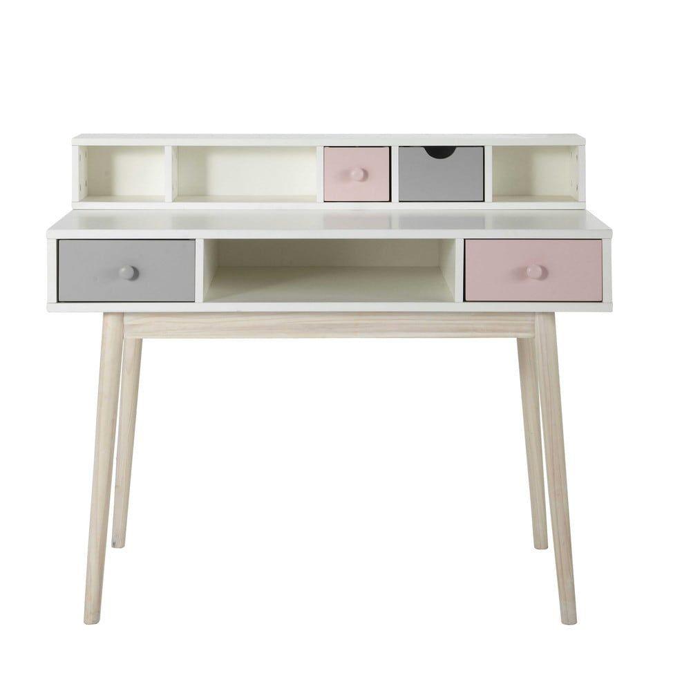 Schreibtischplatte weiß  Vintage Schreibtisch, weiß - Blush | đồ nội thất | Pinterest ...