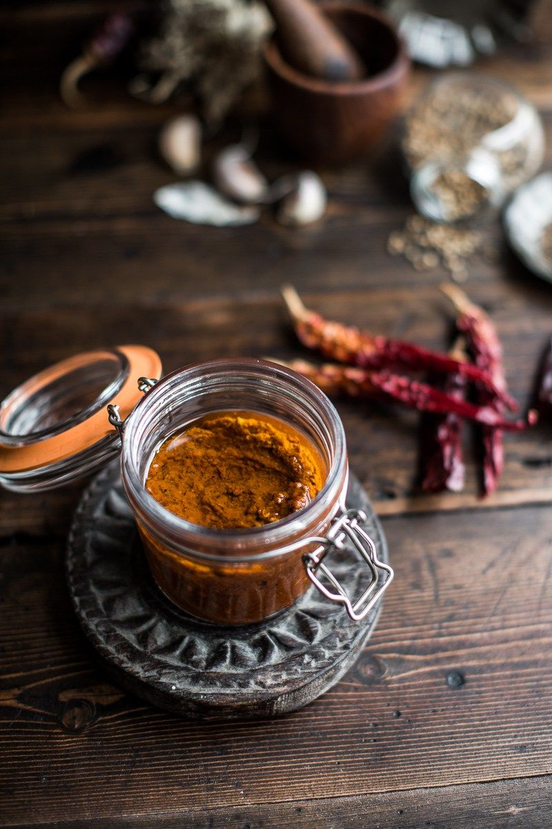 Homemade harissa Recipe Harissa, Homemade, Food