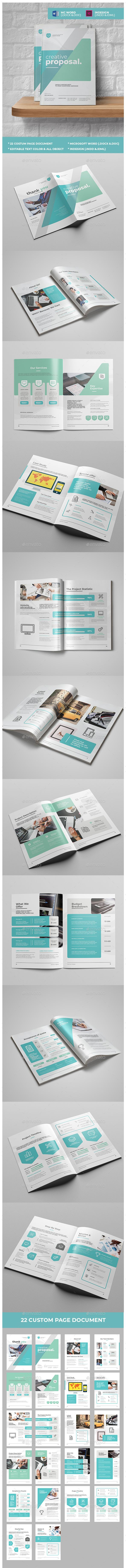 Creative Proposal Template InDesign INDD