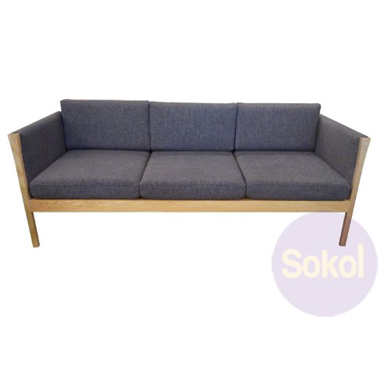 Hans Wegner Sofa Ch163 Baci Living Room