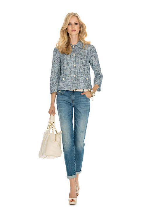 Abbigliamento Luisa Spagnoli Primavera Estate 2015 Look Casual ... b5431f326aa