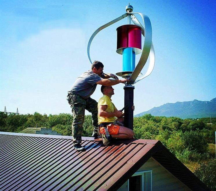 VentusSwing Windkraftanlage Windgenerator Vertikale