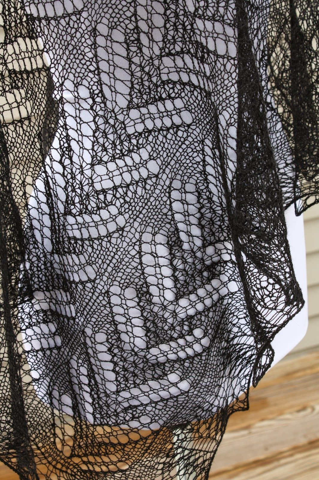 All Knitted Lace: Almost late: March Estonian Shawl   Knitting ...