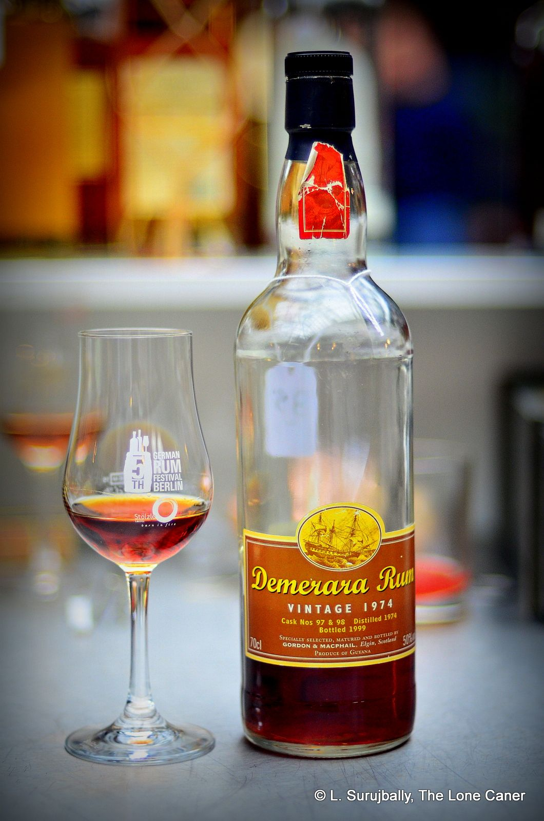 Gordon & MacPhail Demerara 1974 25 Year Old Rum Review