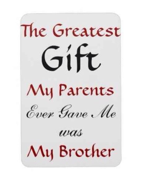 The Greatest Gift My Parents Gave Me Was A Sibling Younger Brother