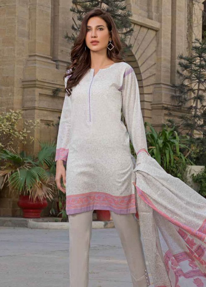 Gul Ahmed Printed Lawn Unstitched 3 Piece Suit GAM19L CL ...