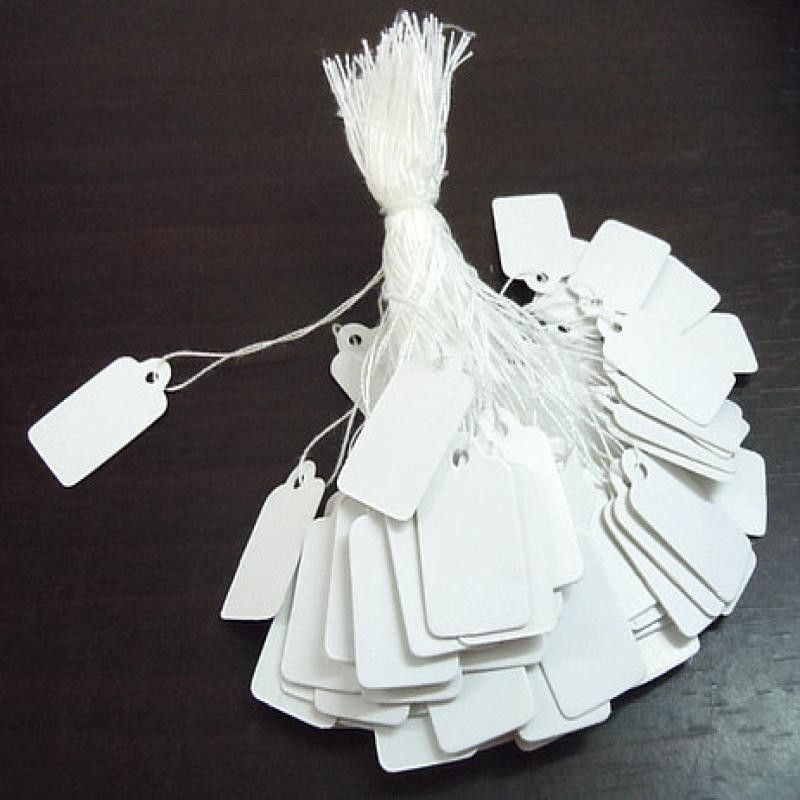 500pcs Worth Tags Rectangle White Paper Tags Lace Scallop Head Label Baggage Marriage ceremony Observe DIY Clean worth Grasp Reward Tag - Silver Jewellery 925 - SHOP NOW