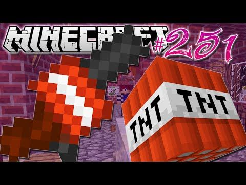 The Diamond Minecart | Minecraft | BLOWING UP CHRISTMAS ...