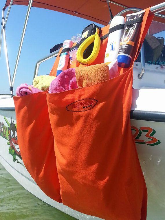 More Color Options 2 Pocket Boat Storage Organizer Bag