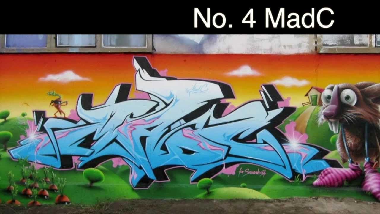 Top 10 Best Graffiti Artists (Updated) | portfolio | Pinterest ...