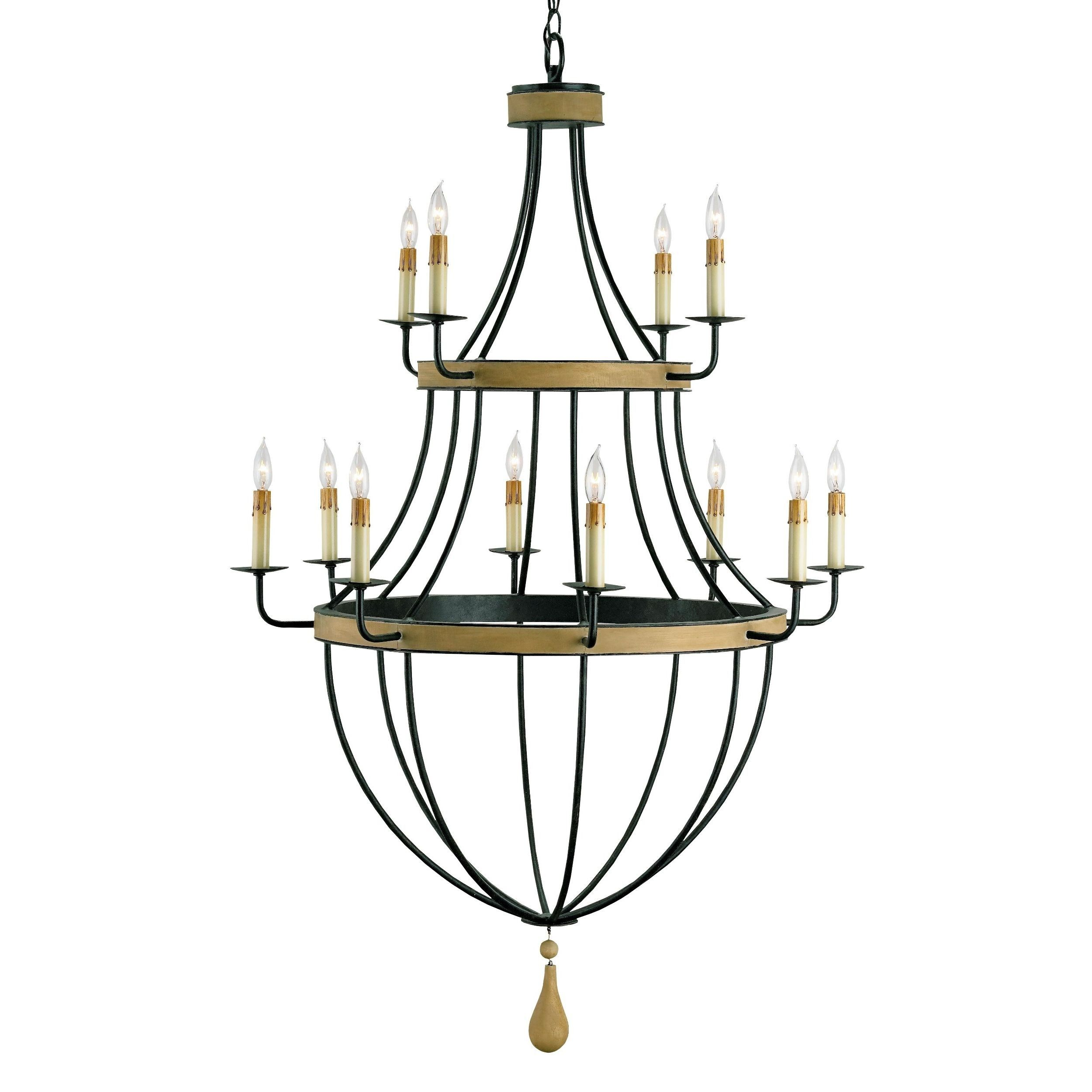 Currey and company blythwood chandelier wrought iron chandeliers currey and company blythwood chandelier wrought iron and wood arubaitofo Images
