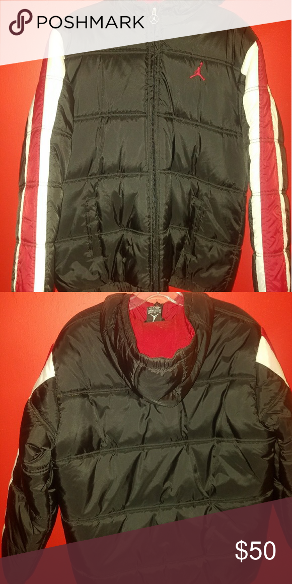 8055ed07b6361d Jordan puffer jacket never warn Brand New Cozey warm jordan puffer jacket  very stylish for a great price you can t refuse. Jordan Jackets   Coats  Puffers