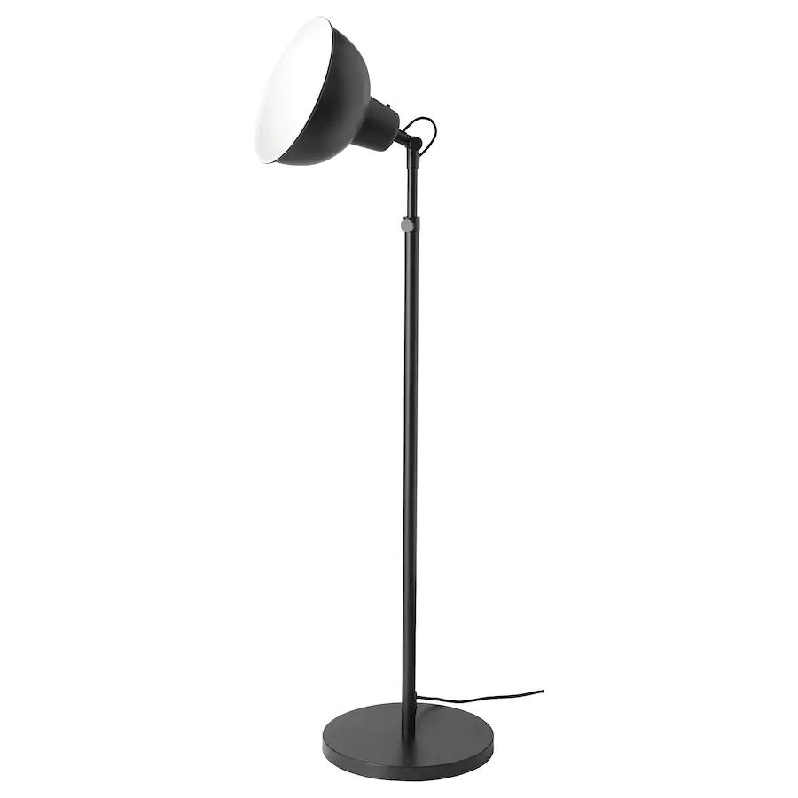 Skurup Staande Lamp Uplight Zwart Ikea In 2020 Lamp Led Bulb Clear Light Bulbs