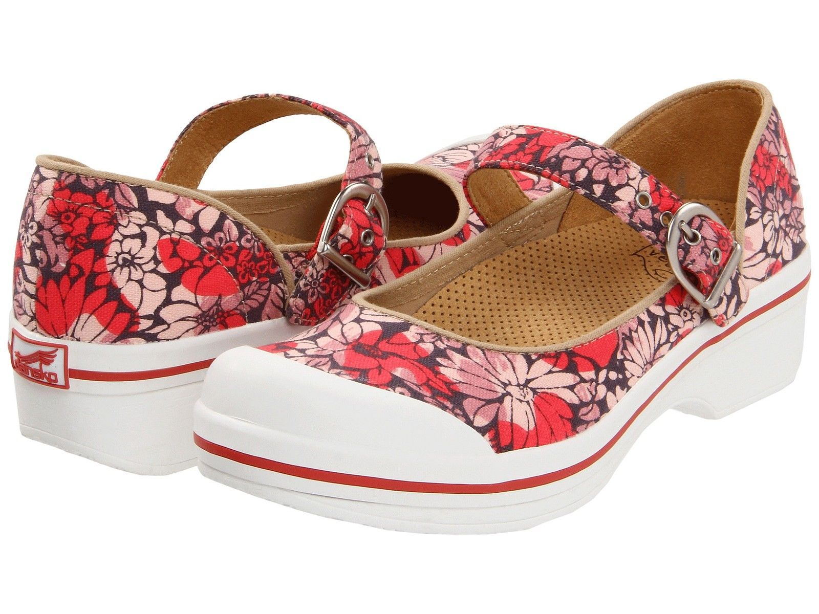 DANSKO VALERIE CANVAS RED HAWAII EU SIZE 39
