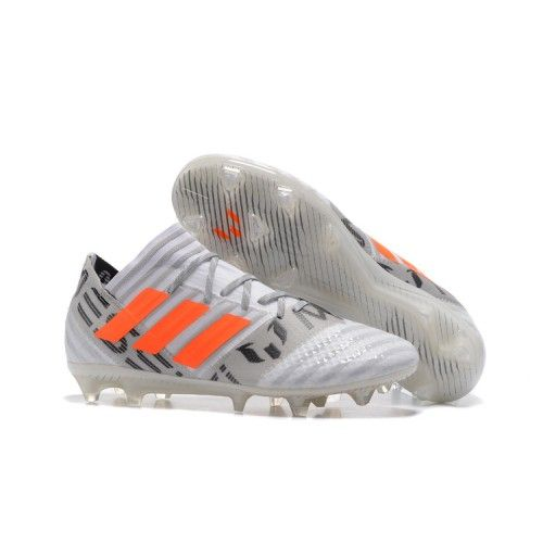 official photos 3a82d 4e324 adidas ace white and grey  adidas nemeziz 17.1 fg acc football boots white  black orange gray