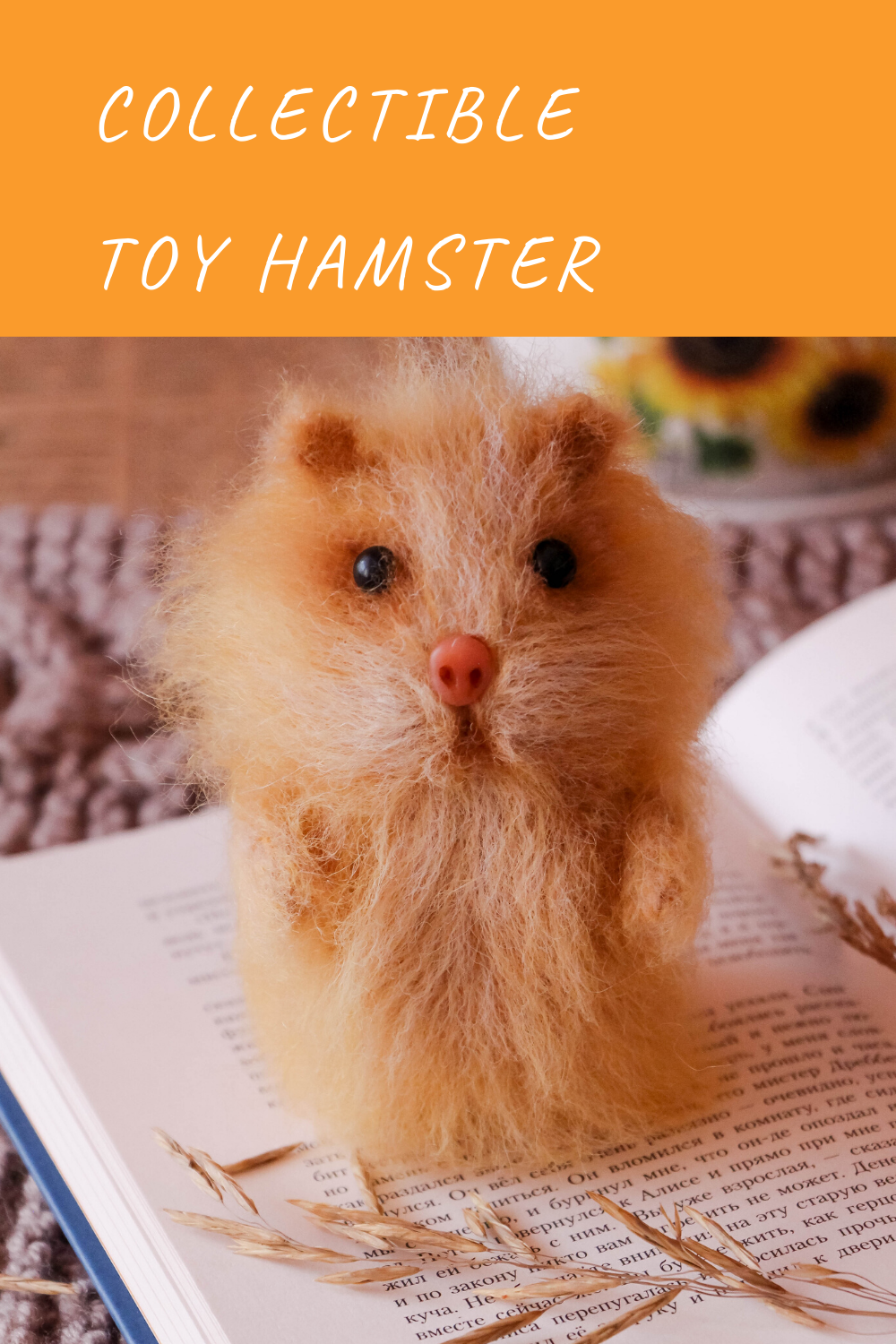 Easter Hamster Figurine Paint your own!