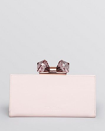 6eac886d2a1e Ted Baker Wallet - Crystal Bow Matinee Continental  170
