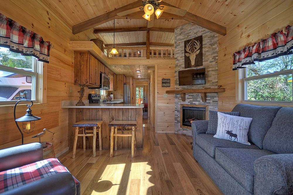 Tiny Log Home Designs: Green River Log Cabins In South Carolina Have A Dozen Park