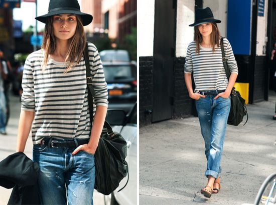 dressed by style | madewell boyfriend jeans | http ...
