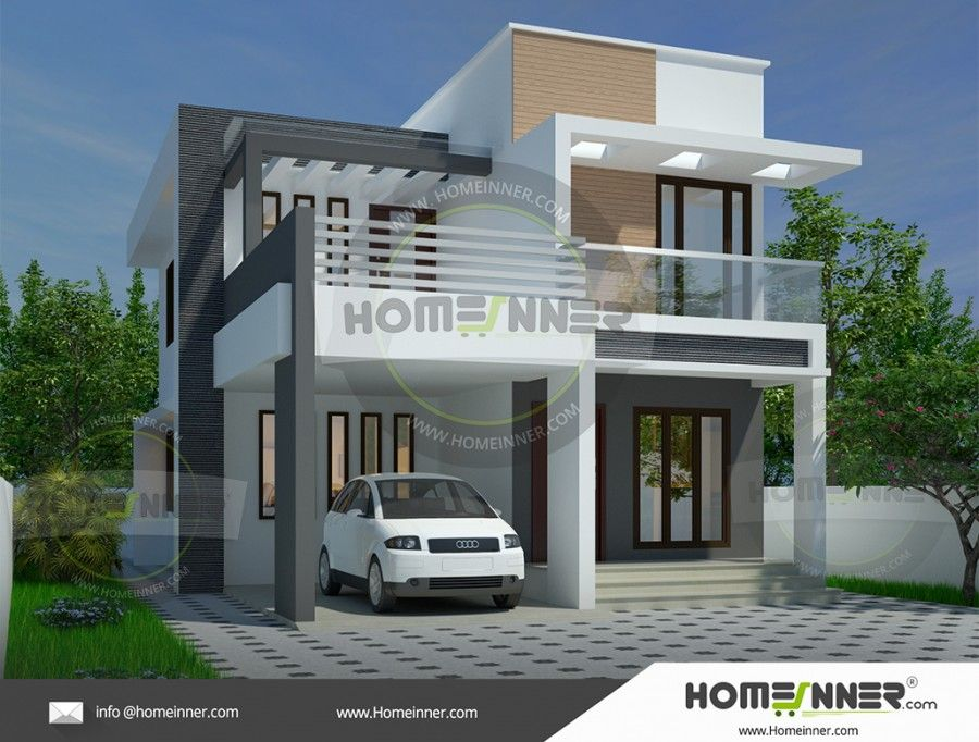 Flat Roof Home Designs Flat Roof House Plans Design And Planning