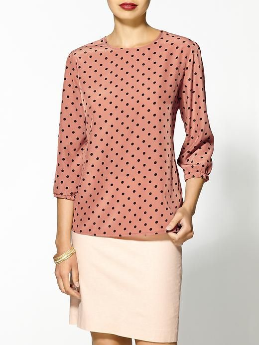 pencil skirt with untucked blouse