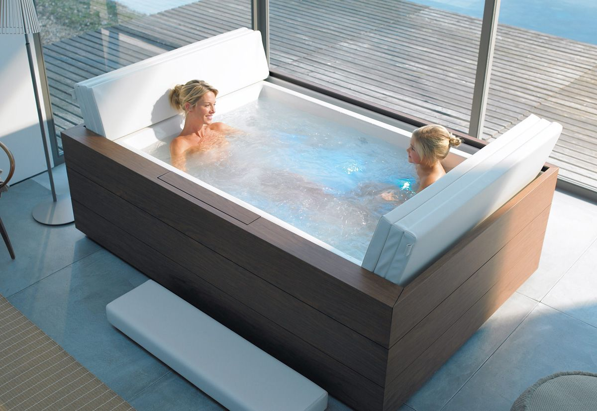Sundeck Tub by EOOS for Duravit | droomtuin | Pinterest | Duravit ...