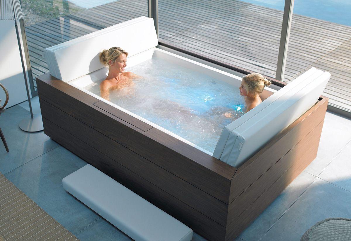 Sundeck Tub By Eoos For Duravit Doppelbadewanne Modernes