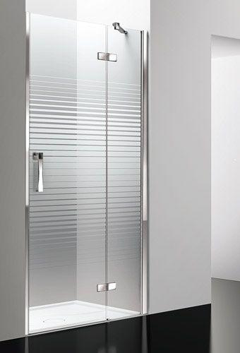 Arblu sei nicchia 1 anta battente parete doccia senza - Box doccia senza telaio ...