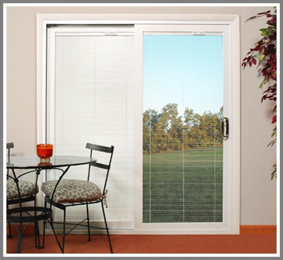 38 Reference Of Window Blinds Sliding In 2020 Sliding Glass Door Blinds Door Blinds Sliding Door Window Treatments