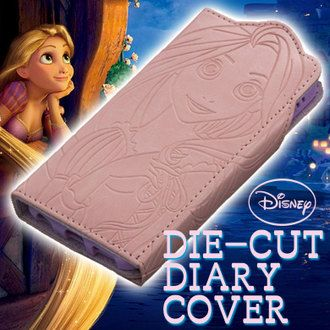 Disney iPhone 6 book type case Disney Rapunzel (iPhone6 case /iPhone6 cover) (6 iPhone case / iPhone 6 cover) (diary-diary)
