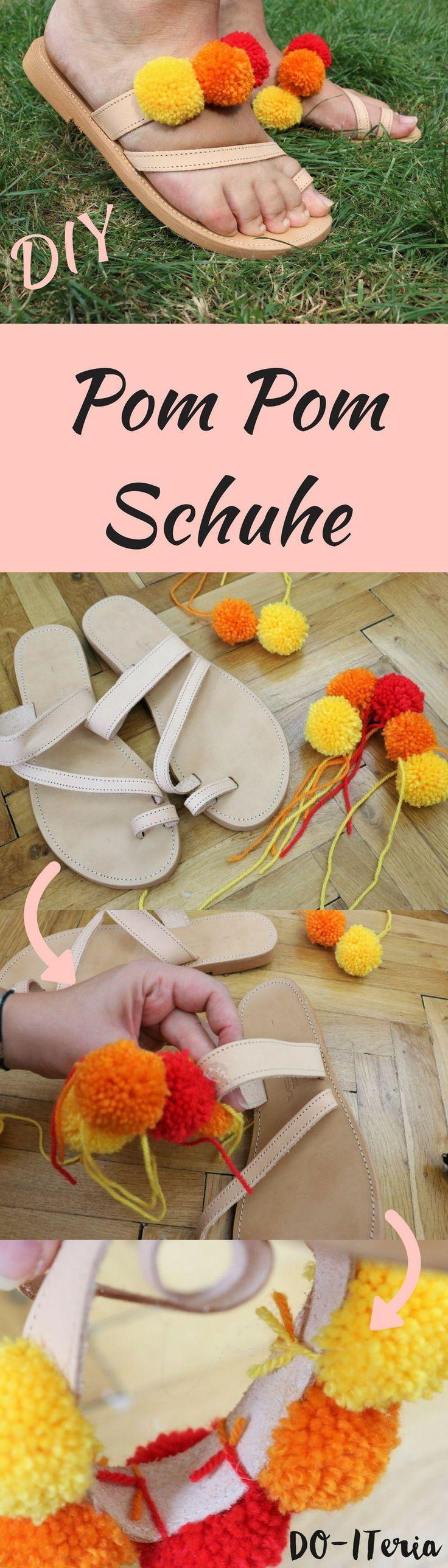 Pom Pom Schuhe | DO-ITeria