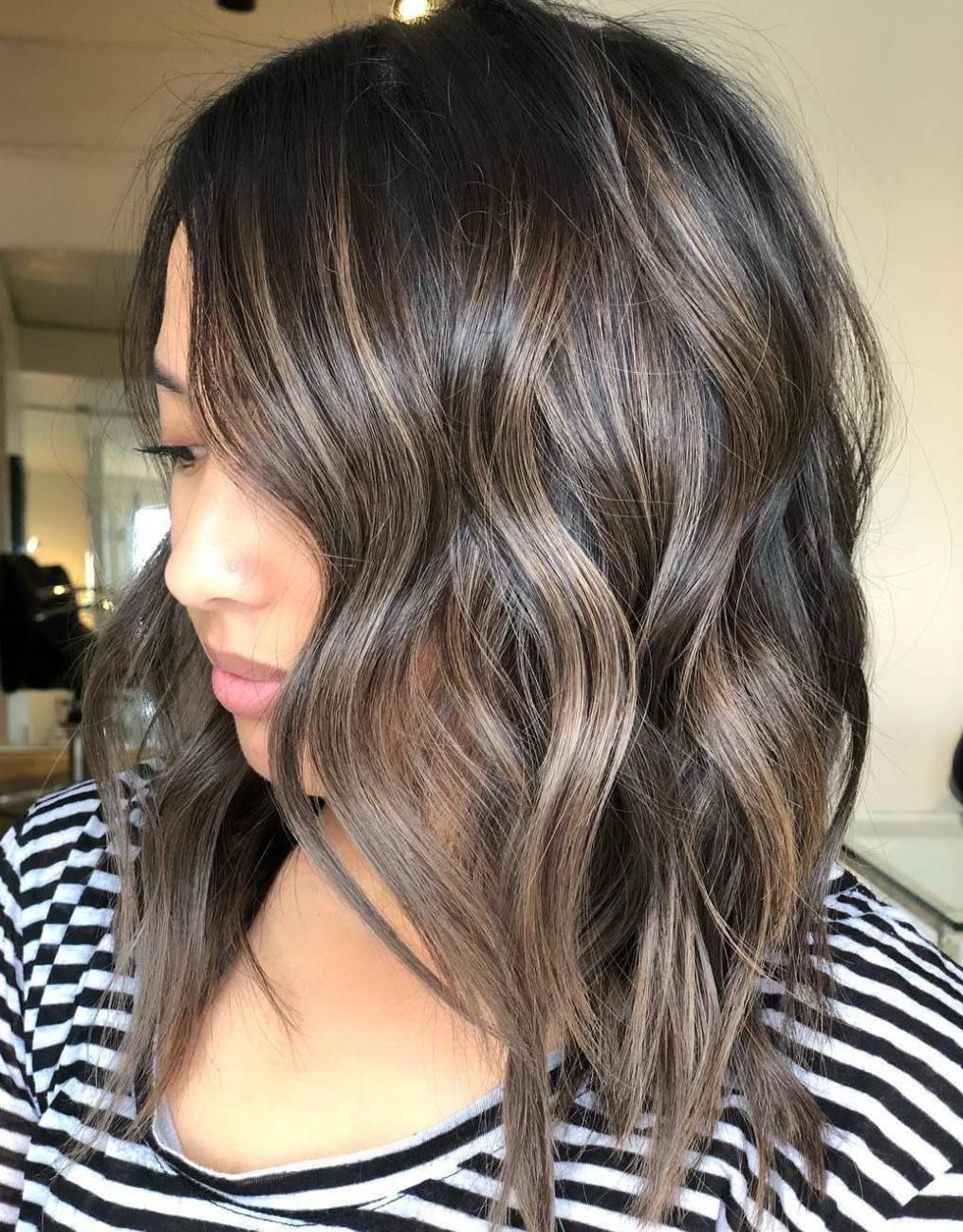 Mushroom Brown Hair A Hot New Trend Youll Fall In Love With In