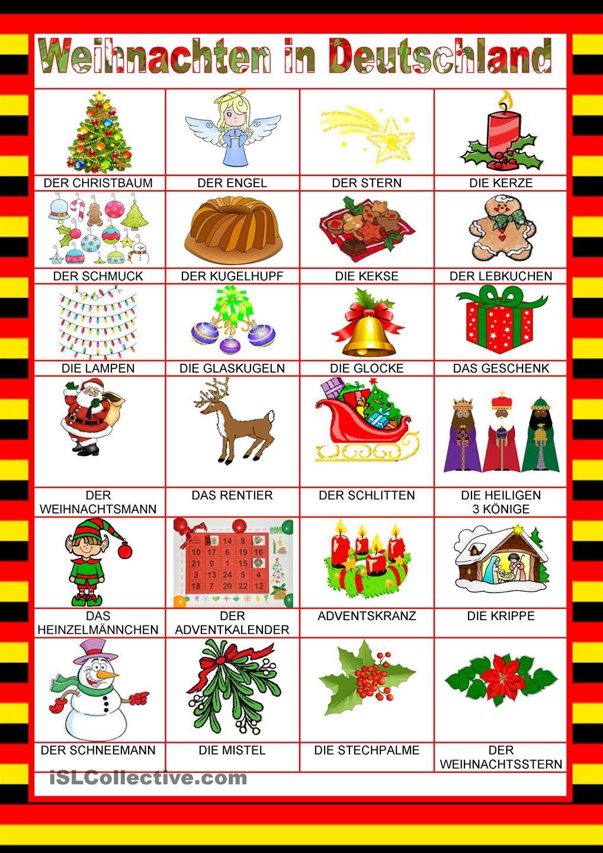Willkommen auf Deutsch - Weihnachten in Deutschland | Hallo, Kinder ...