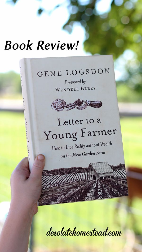 Letter to a Young Farmer by Gene Logsdon Homesteads, Farming and Books