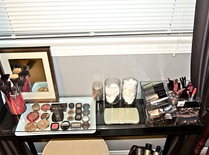 DIY Ikea Vanity under 100! Ikea makeup vanity, Diy