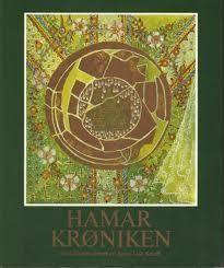 Omslagsbilde av Hamarkrøniken - Bought used at a second hand bookshop