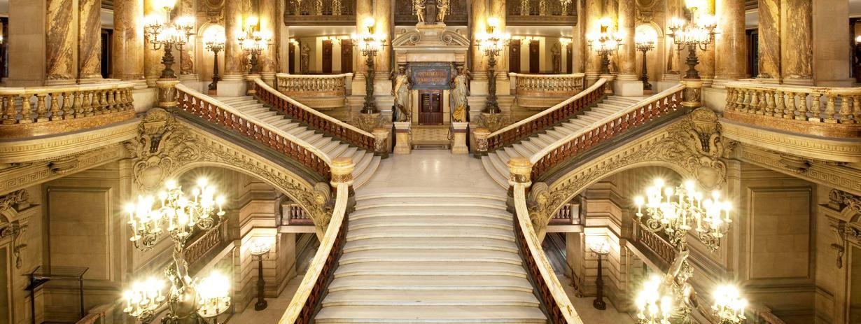 Charles Garnier\'s grand staircase   Palais Garnier   Making an ...
