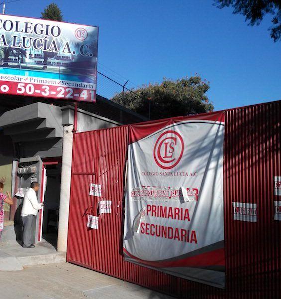 Autoridades de Santa Lucia del Camino pretenden clausurar un colegio particular