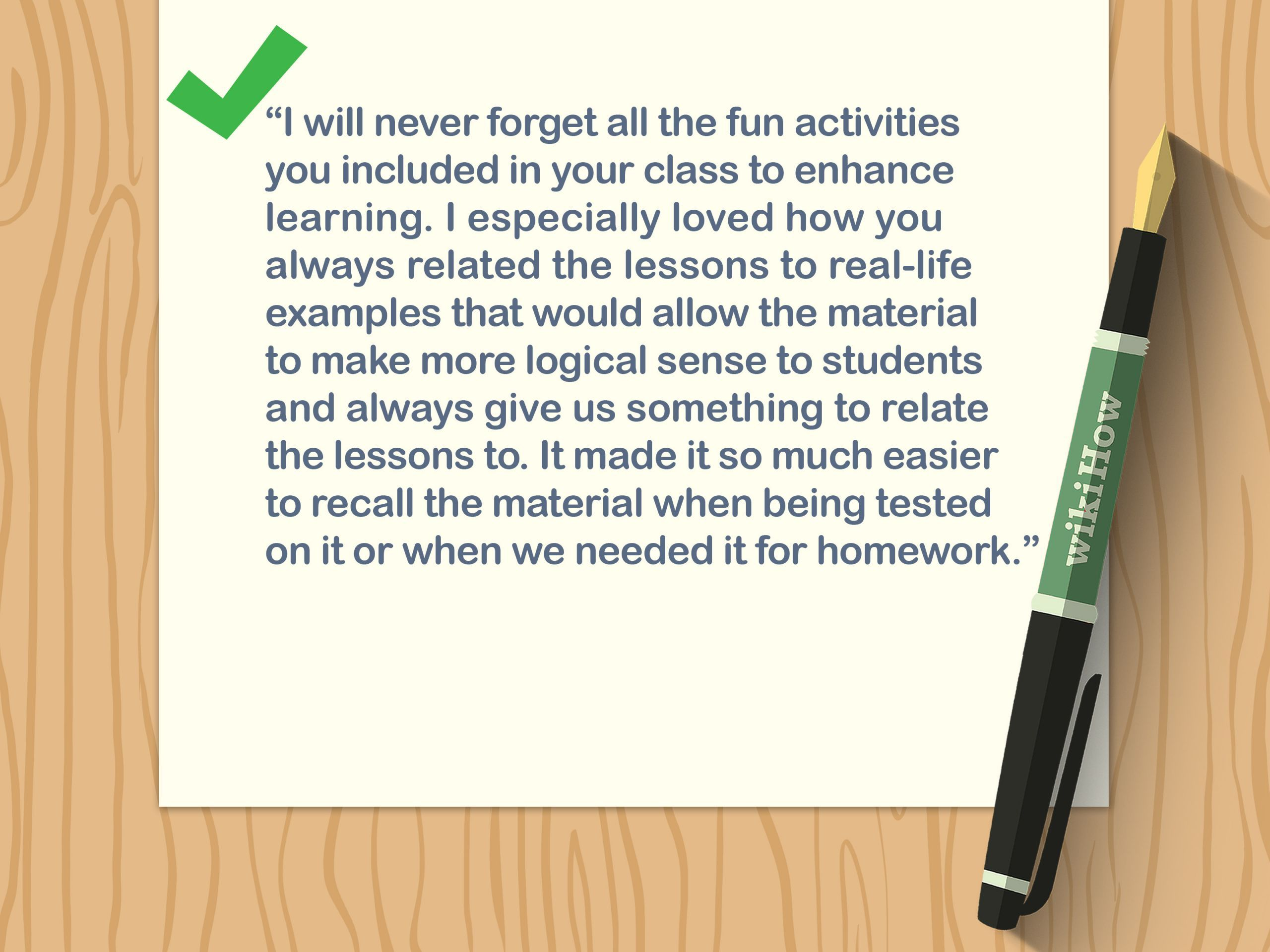 5 Back To School Ideas Activities Write A Thank You Note