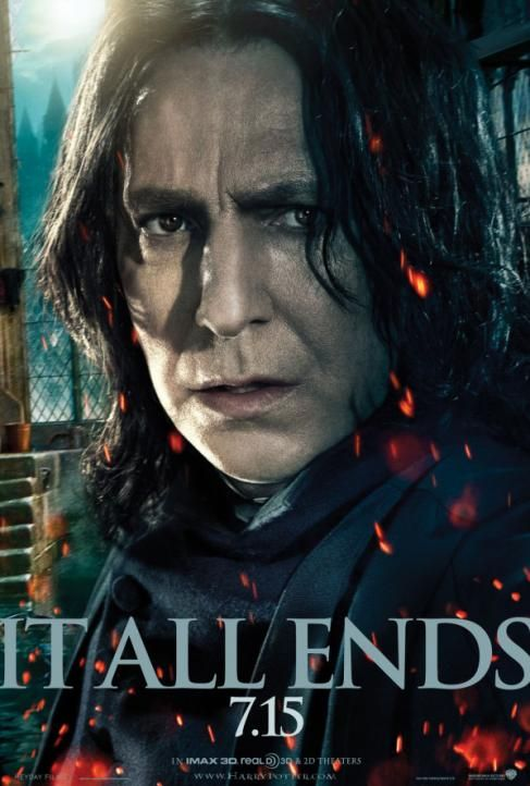 Harry Potter And The Deathly Hallows Part 2 Poster Snape Snape Harry Potter Snape Harry Harry Potter Poster