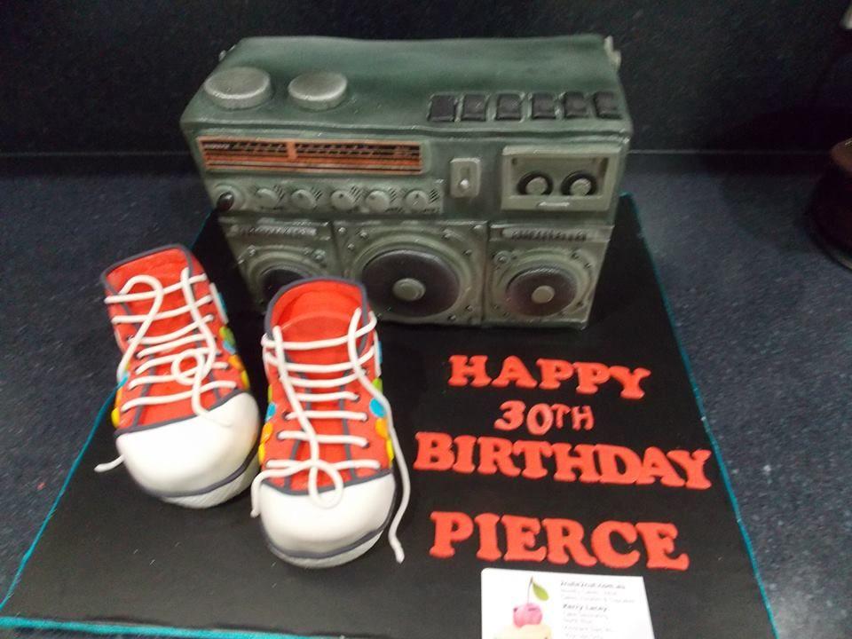 30th birthday cake by north eton