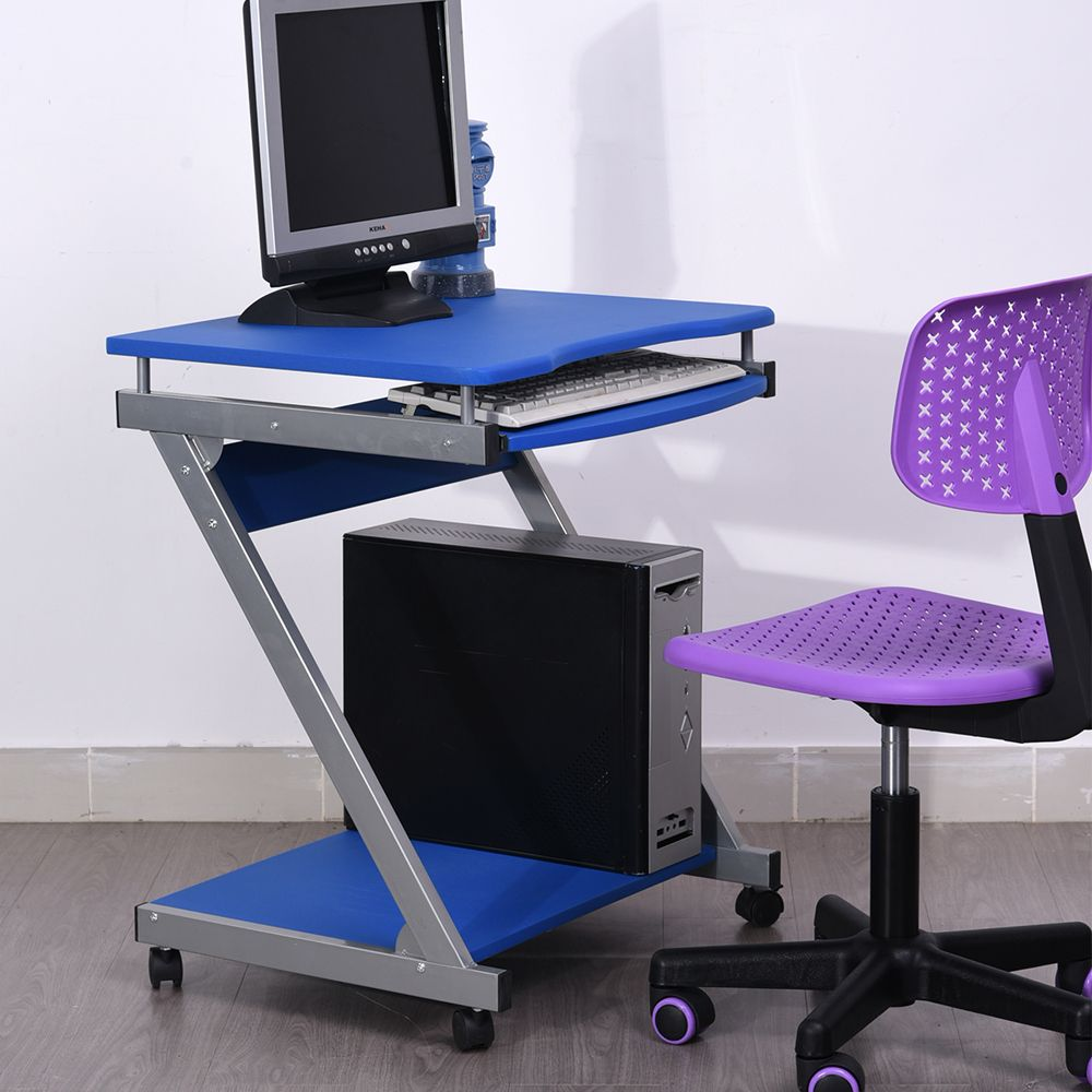 Fold Away Computer Chair Leather And A Half Recliner Office Desk Table With Foldable Teble Chairs