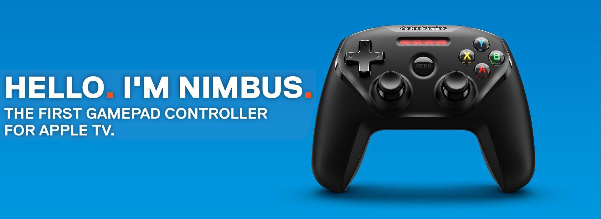 Nimbus: el primer gamepad diseñado para el nuevo Apple TV - http://www.esmandau.com/176025/nimbus-el-primer-gamepad-disenado-para-el-nuevo-apple-tv/