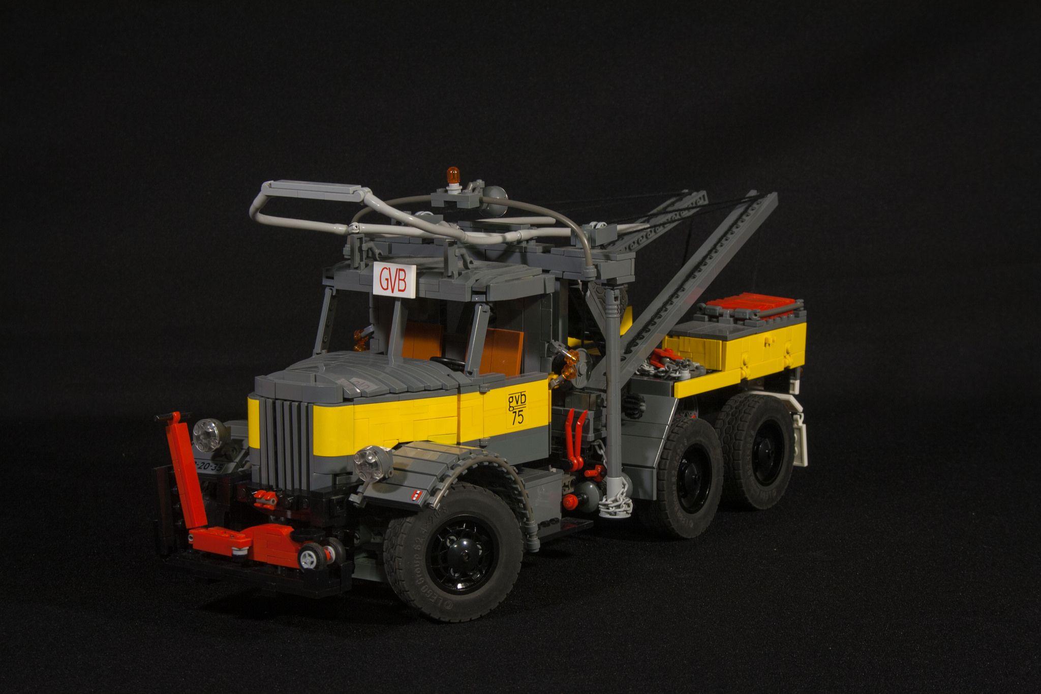Mack LMSW - GVB | lego | Lego, Vehicles und Monster trucks