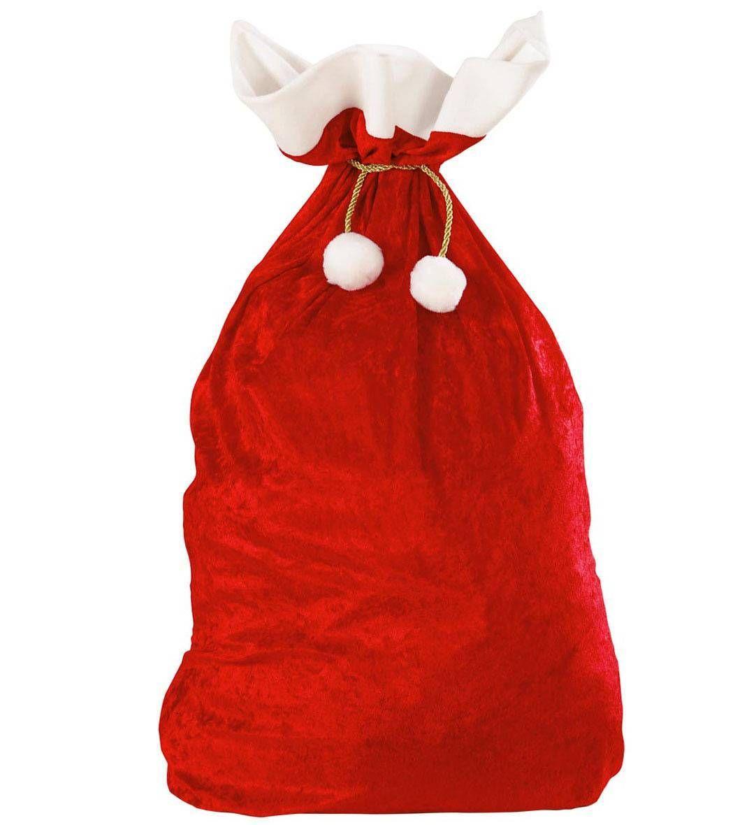 hotte noel Hotte rouge Père Noël | Xmas hotte noel