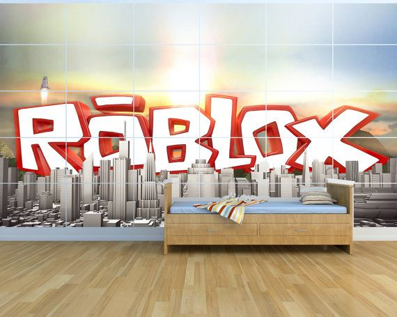 Roblox Huge Kids Massive Wall Poster Picture Art By