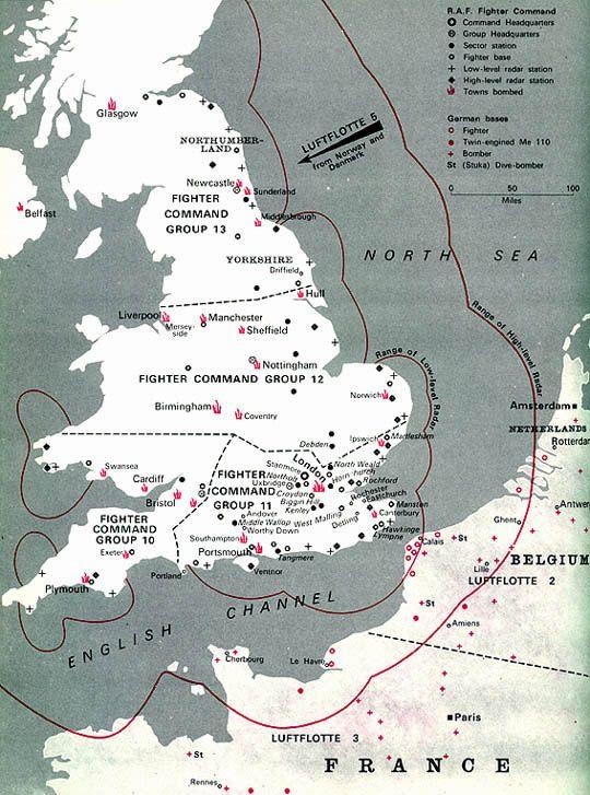 Battle of britain battle of britain map world war ii 1939 battle of britain battle of britain map gumiabroncs Images