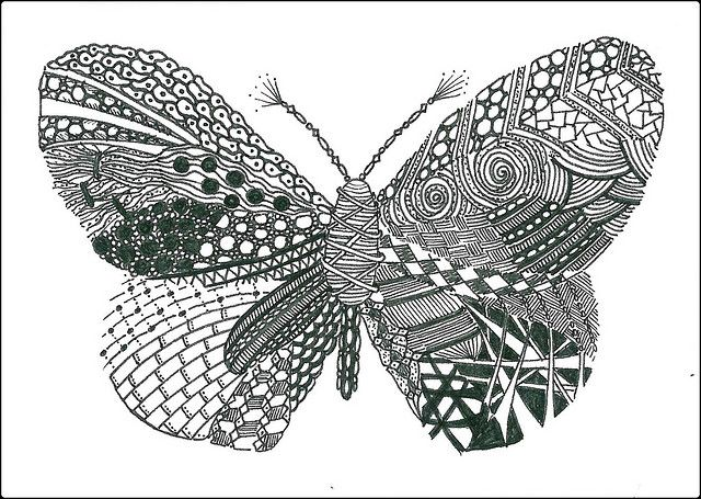 Zentangle Patterns, Zentangle, Pattern